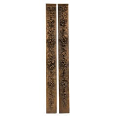 Pair of Beautifully Carved Louis XVI Oak Panels