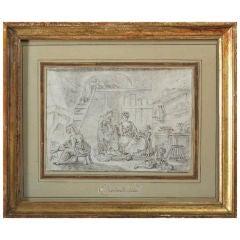 Drawing, Dutch School, 18th Century