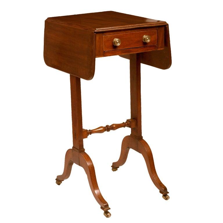 Regency Mahogany Side Table