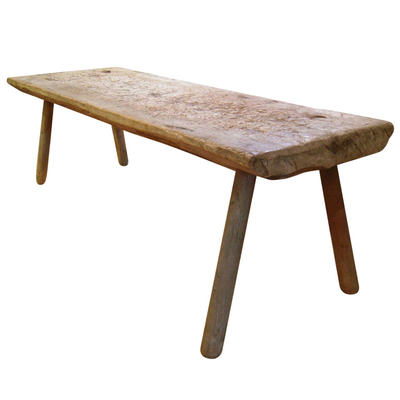 American Primitive Table Or Bench At 1stdibs