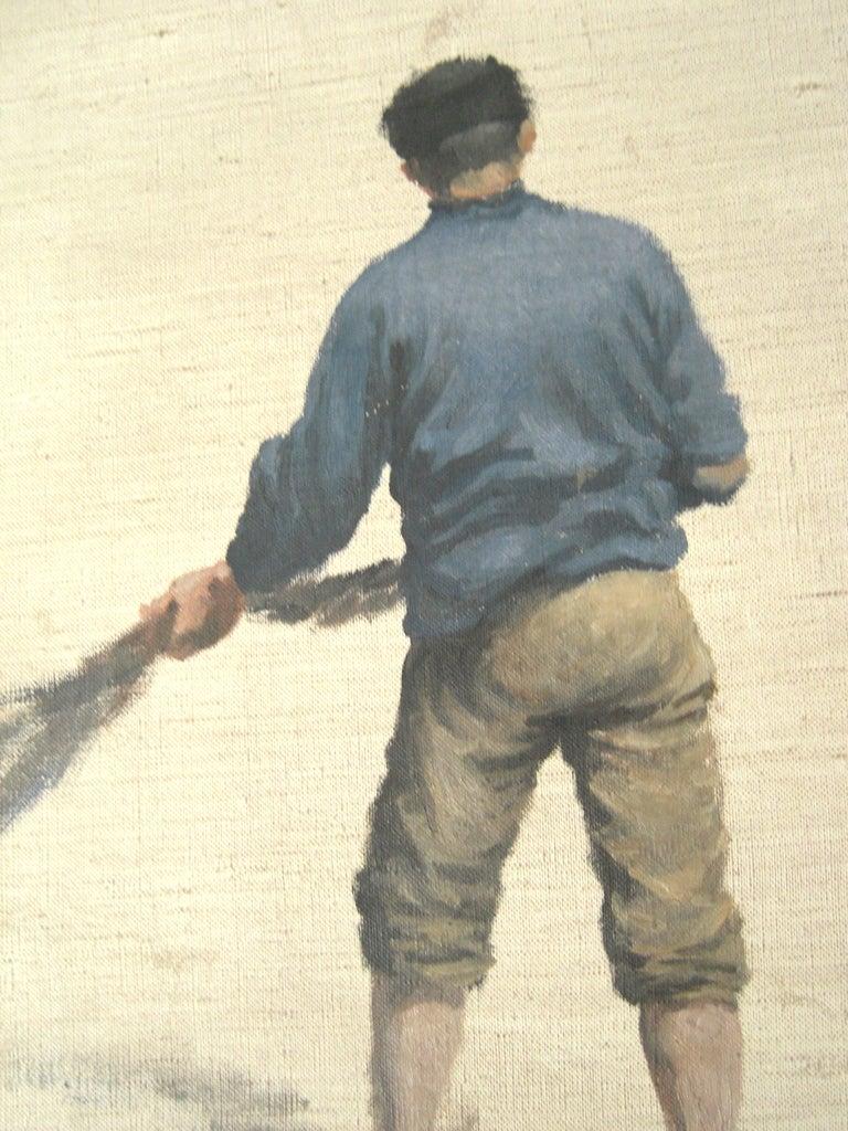3 William Edward Norton Oil On Canvas Figure Studies For Sale 1