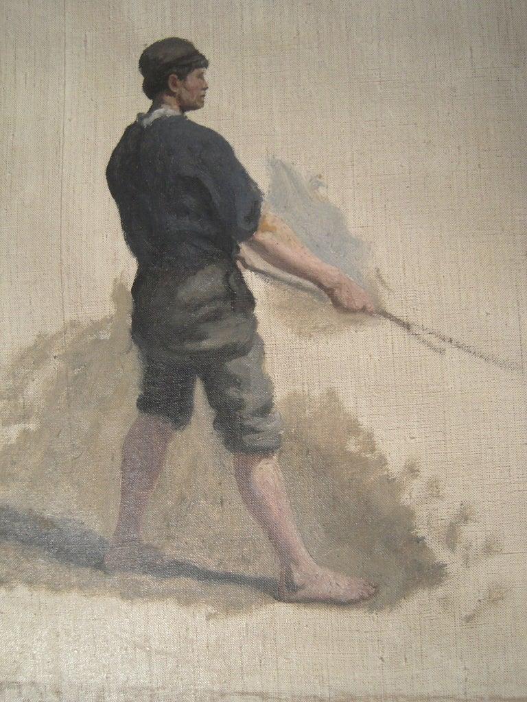 3 William Edward Norton Oil On Canvas Figure Studies For Sale 3