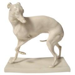 Nymphenburg Porcelain Whippet
