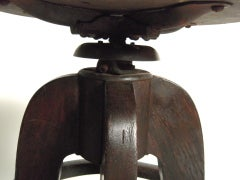 Industrial Swivel Top Stool image 4