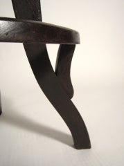 Industrial Swivel Top Stool image 6