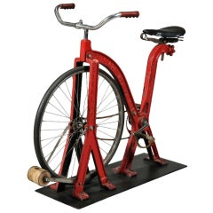 Early Everlast Red Stationary Exercise Bicycle