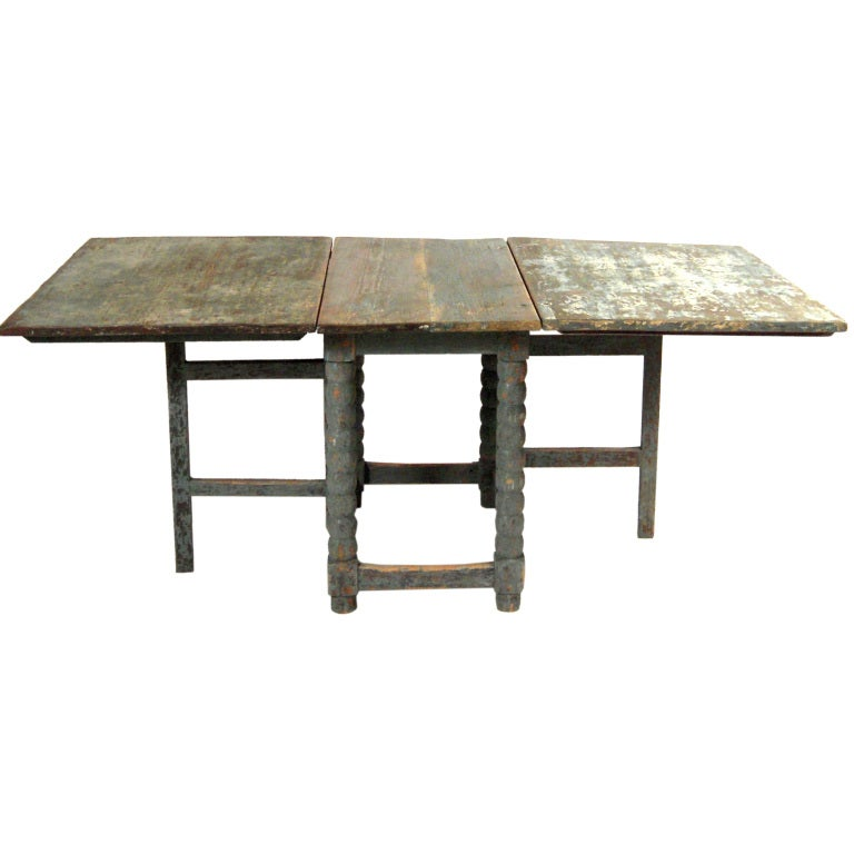 Dining table drop leaf dining table rectangular for Rectangular drop leaf dining table