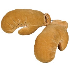 Unusual 19th Century Miniature Boxing Glove Pin Cushions