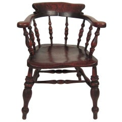 English Country Captain's Windsor Chair