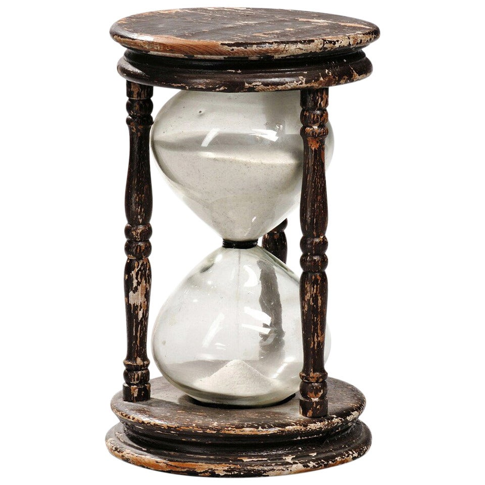 Large 19th Century Hourglass At 1stdibs