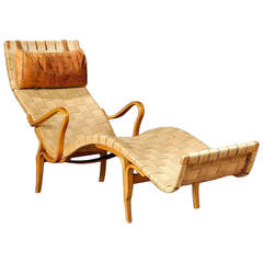 A Rare Early Bruno Matthson Pernilla Chaise Longue, c. 1943