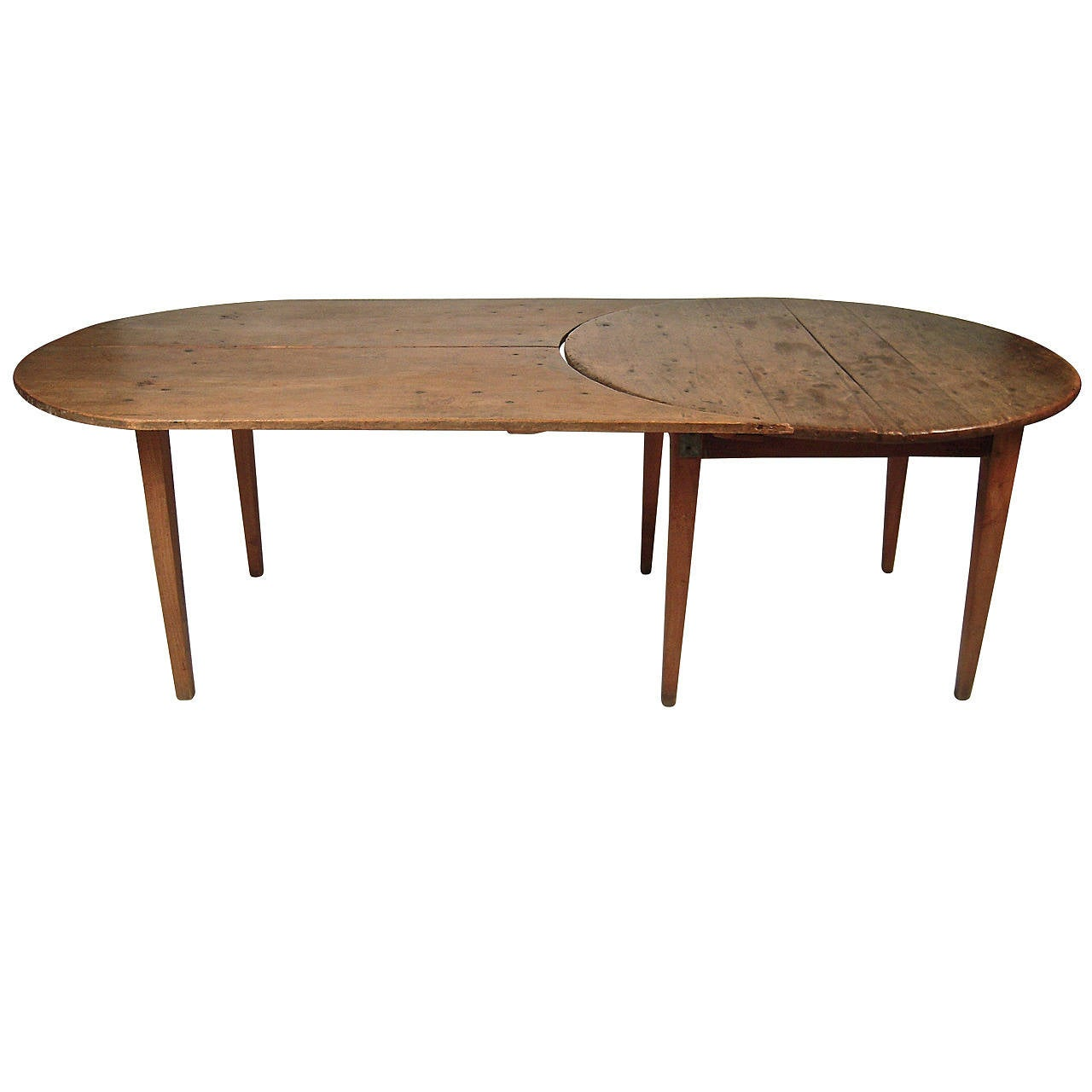 American Two Part Country Dining Table At 1stdibs