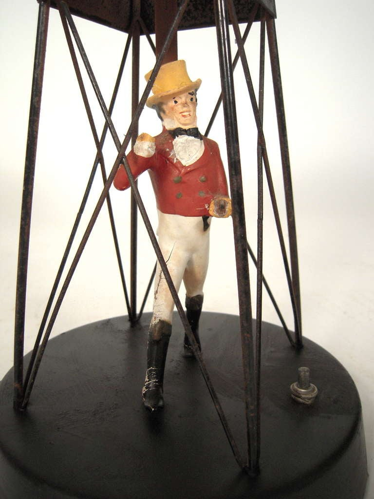 Mid-20th Century Johnnie Walker Buoy Lamp For Sale