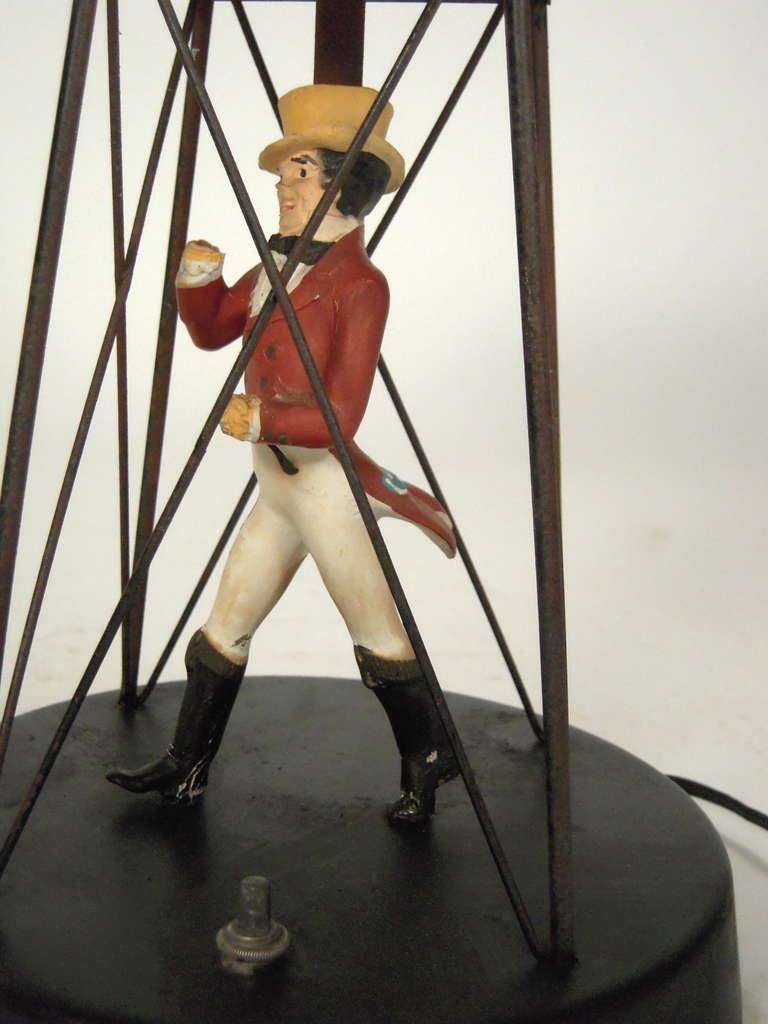 American Johnnie Walker Buoy Lamp For Sale