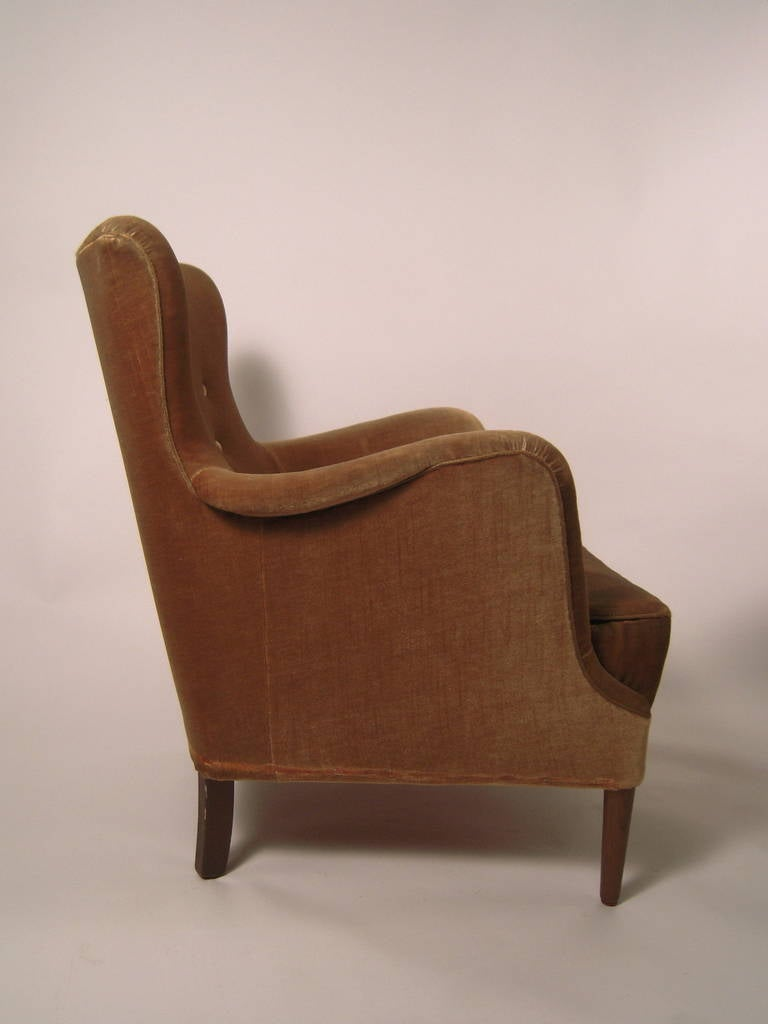 Pair Of Carl Malmsten Samsas Armchairs At 1stdibs
