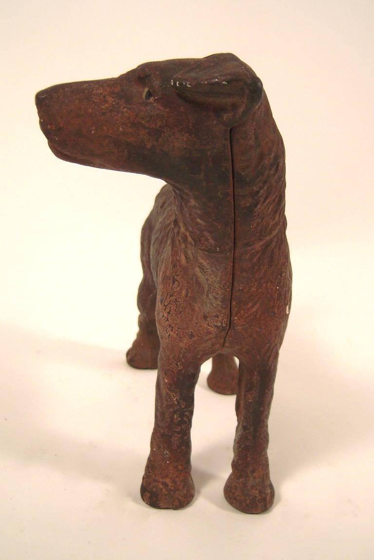 Cast iron terrier doorstop at 1stdibs - Cast iron doorstop ...