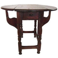 Butterfly Gate Leg Occasional Table