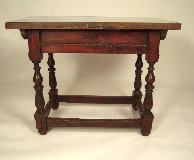 Spanish baroque style table at 1stdibs for Spanish baroque furniture