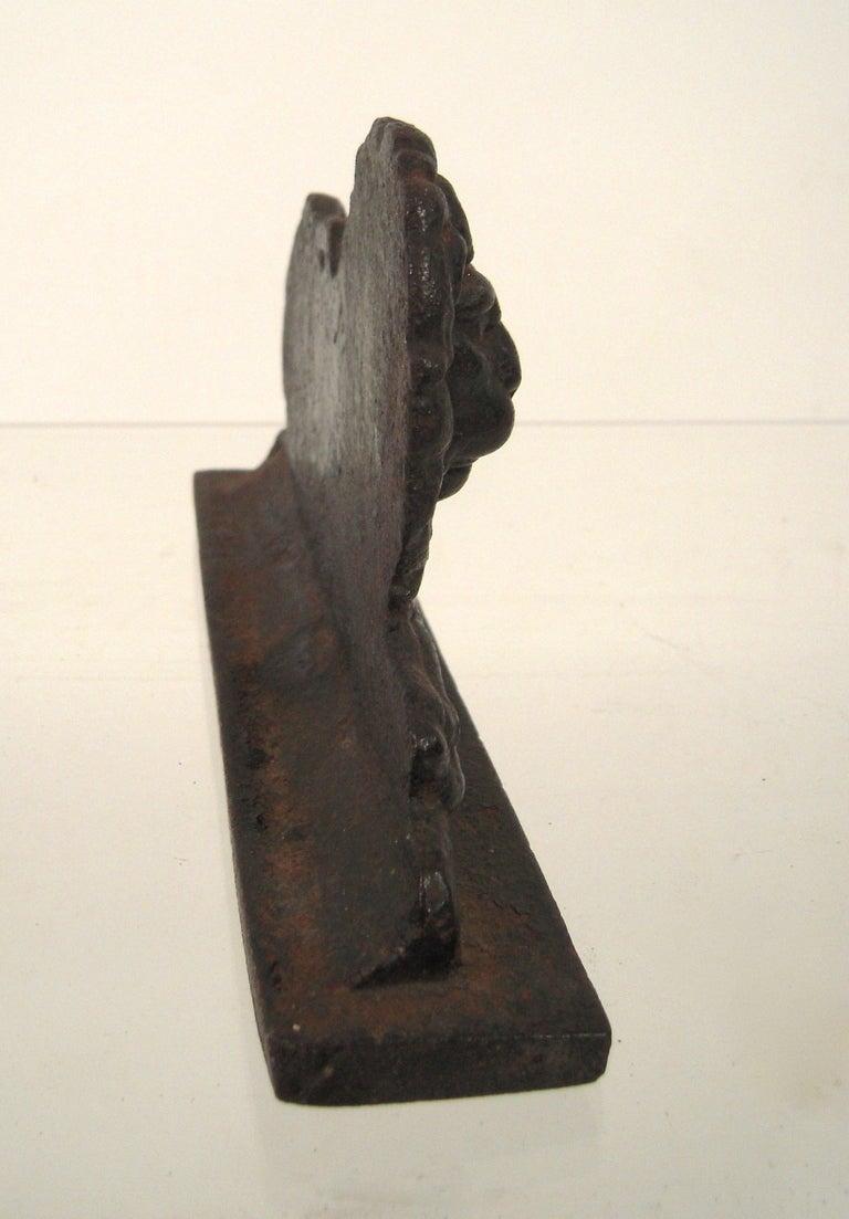 Cast iron lion doorstop at 1stdibs - Cast iron doorstop ...