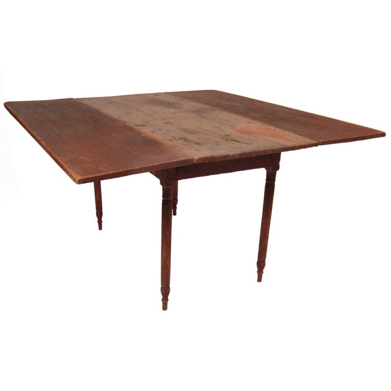 Early Northern New England Drop Leaf Dining Table For 8 at  : XXX837712759363271 from www.1stdibs.com size 768 x 768 jpeg 24kB