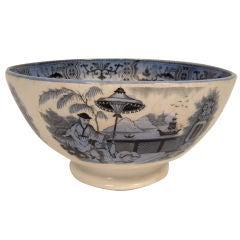 Chinoiserie Ironstone Bowl