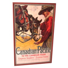 Vintage Canadian Pacific Travel Poster by Hugo Laubi