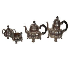 Arts and Crafts Period Silver Tea and Coffee Service
