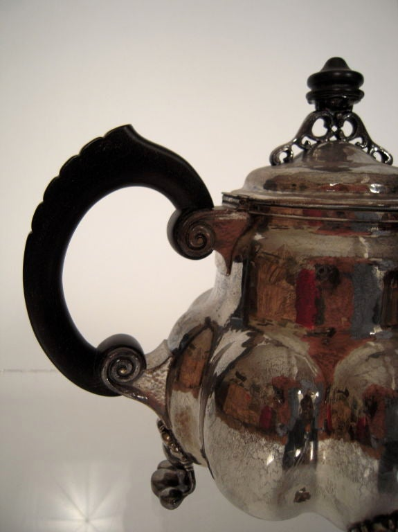 20th Century Arts and Crafts Period Silver Tea and Coffee Service  For Sale