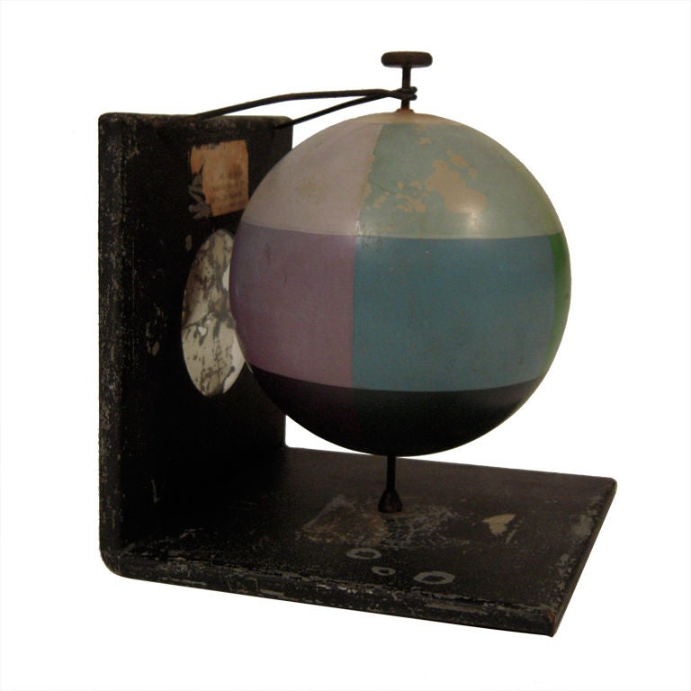 Unusual and Decorative Color Theory Sphere, circa 1900