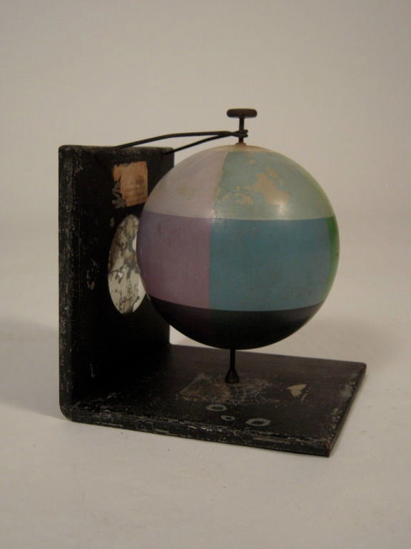 Unusual and Decorative Color Theory Sphere, circa 1900 image 2