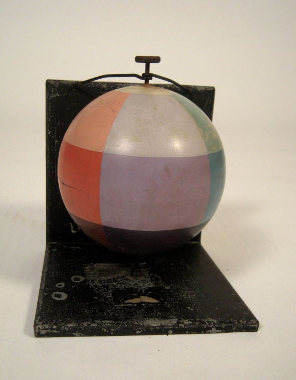 Unusual and Decorative Color Theory Sphere, circa 1900 image 4
