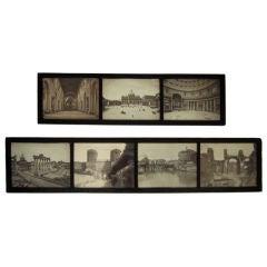 Grand Tour Photographs of Rome