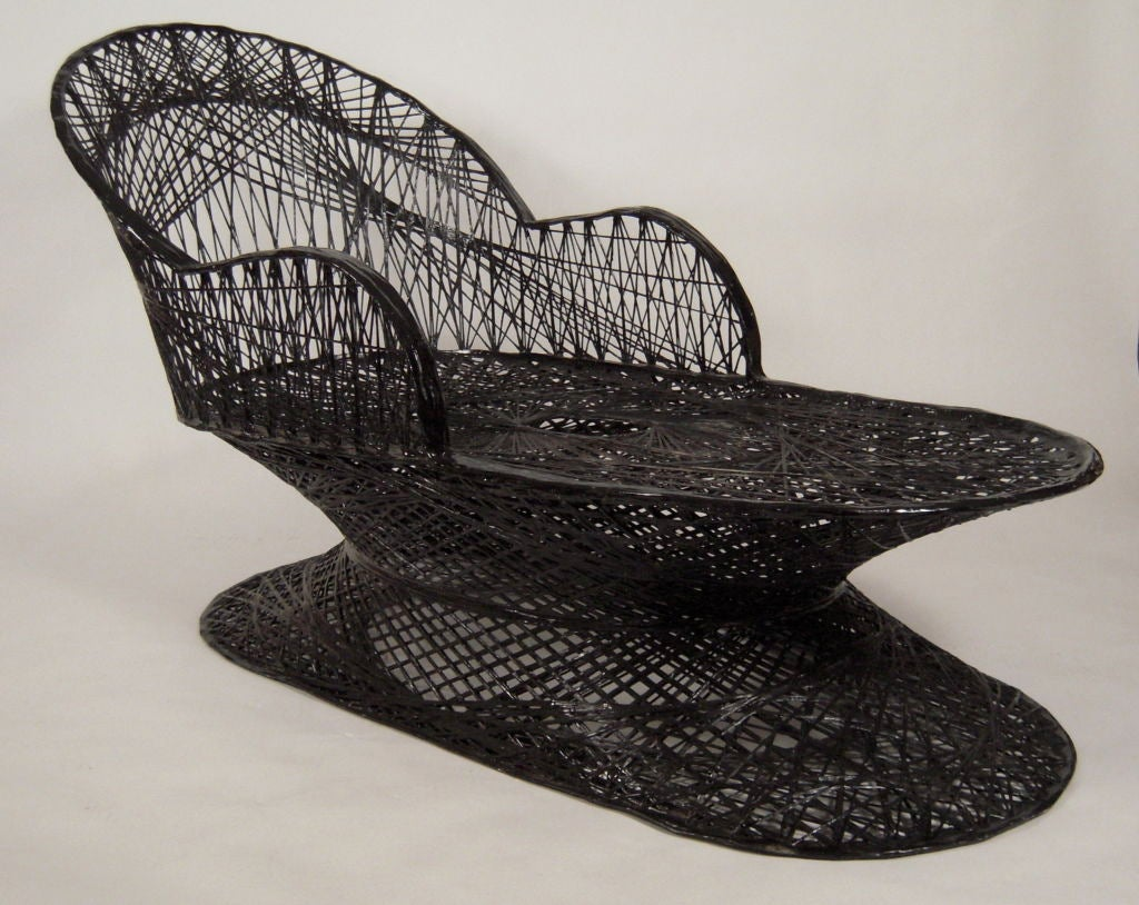 Pair of unusual large chaise longues at 1stdibs for Large chaise longue