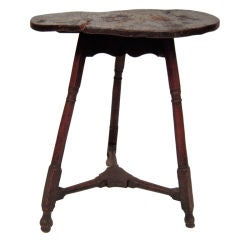 Charming 18th Century English Country Cricket Table