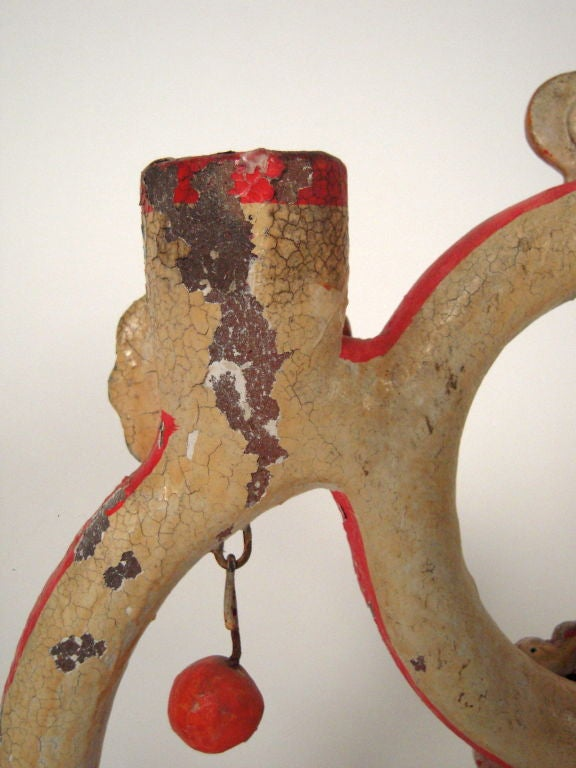 """Alfonso Castillo Mexican Pottery """"Tree of Life"""" Candelabra For Sale 5"""