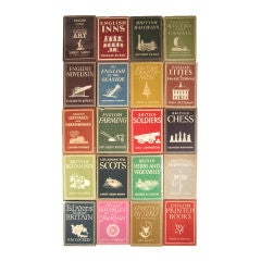 A Collection of 25 Very British Books