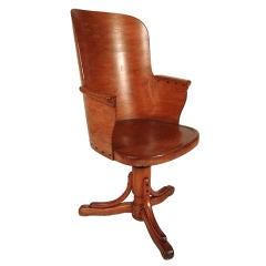 Unusual Stylish Bentwood Office Chair