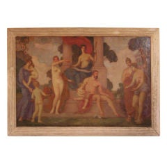 Study for a Theater Lobby Roman Mural by William Meyerowitz,1916