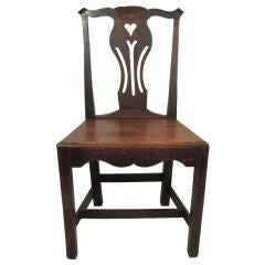 18th Century English Provincial Chippendale Chair
