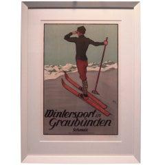 Swiss Ski Poster