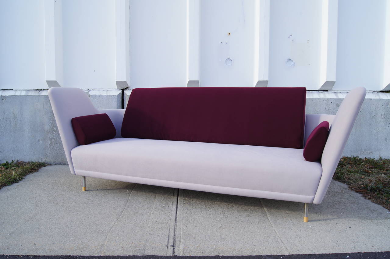 Unique Fj 57 Sofa By Finn Juhl At 1stdibs