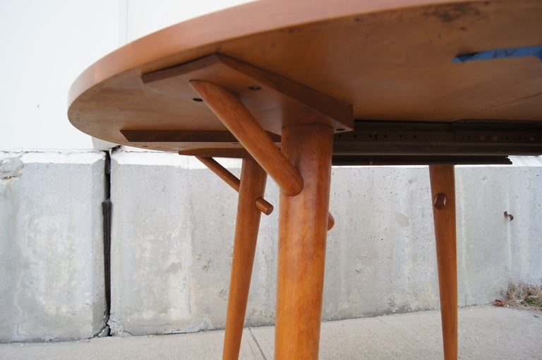 20th Century Dining Table by Russel Wright for Conant Ball For Sale