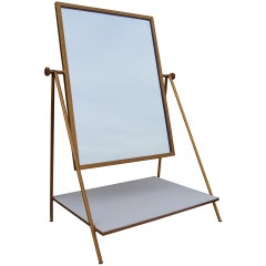 Table Mirror with Shelf by Paul McCobb