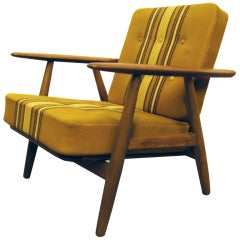 GE-240 Armchair by Hans Wegner for Getama