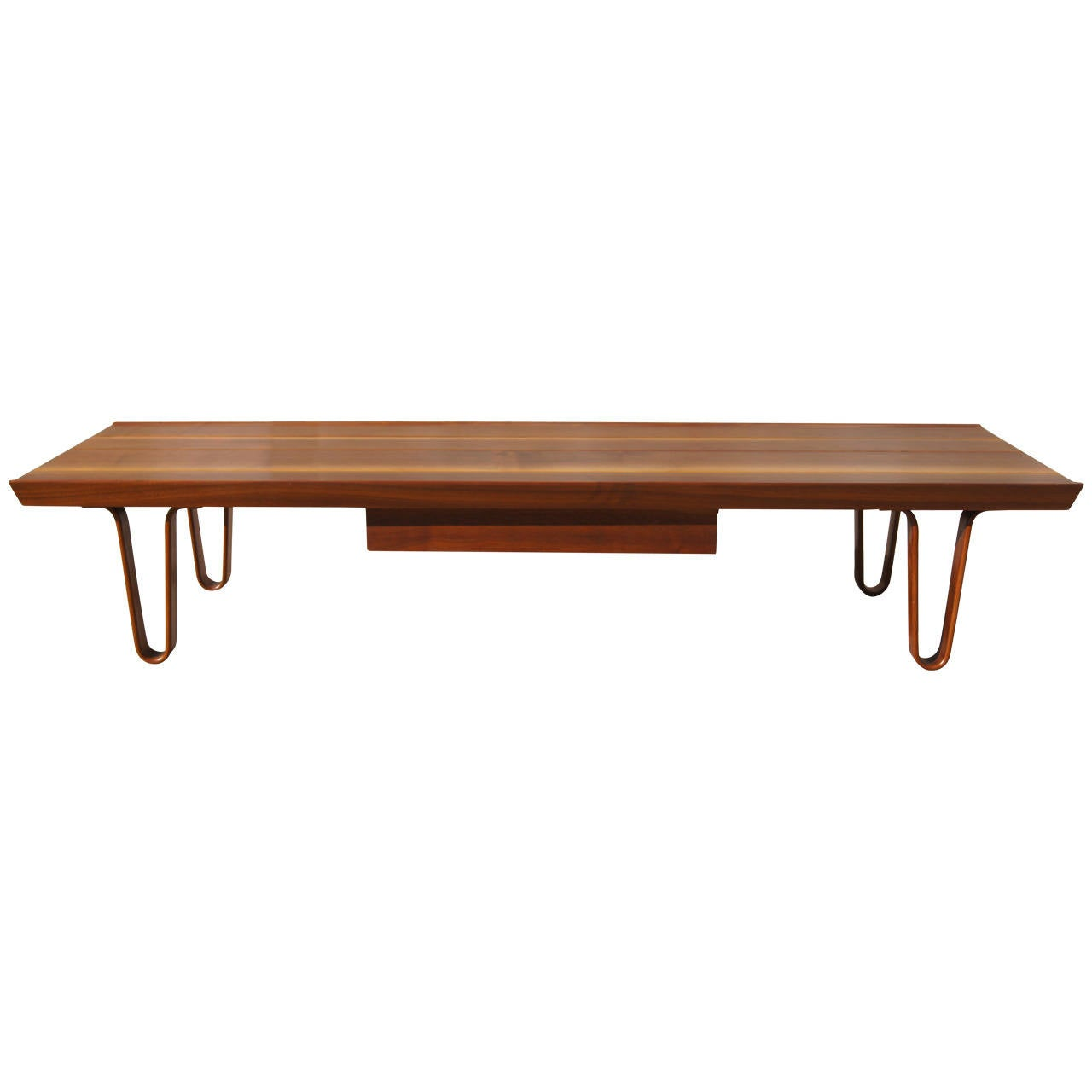 Long john coffee table by edward wormley for dunbar at 1stdibs for Long coffee table