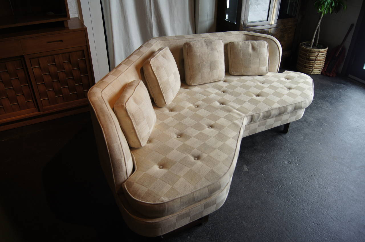 Angular Janus Collection Sofa, Model 6329, by Edward Wormley for Dunbar 4
