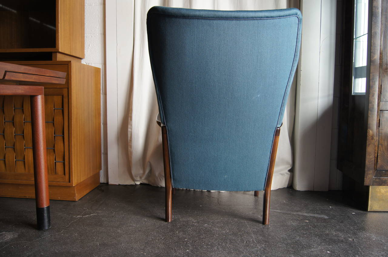 20th Century High Back Armchair by Fritz Hansen For Sale