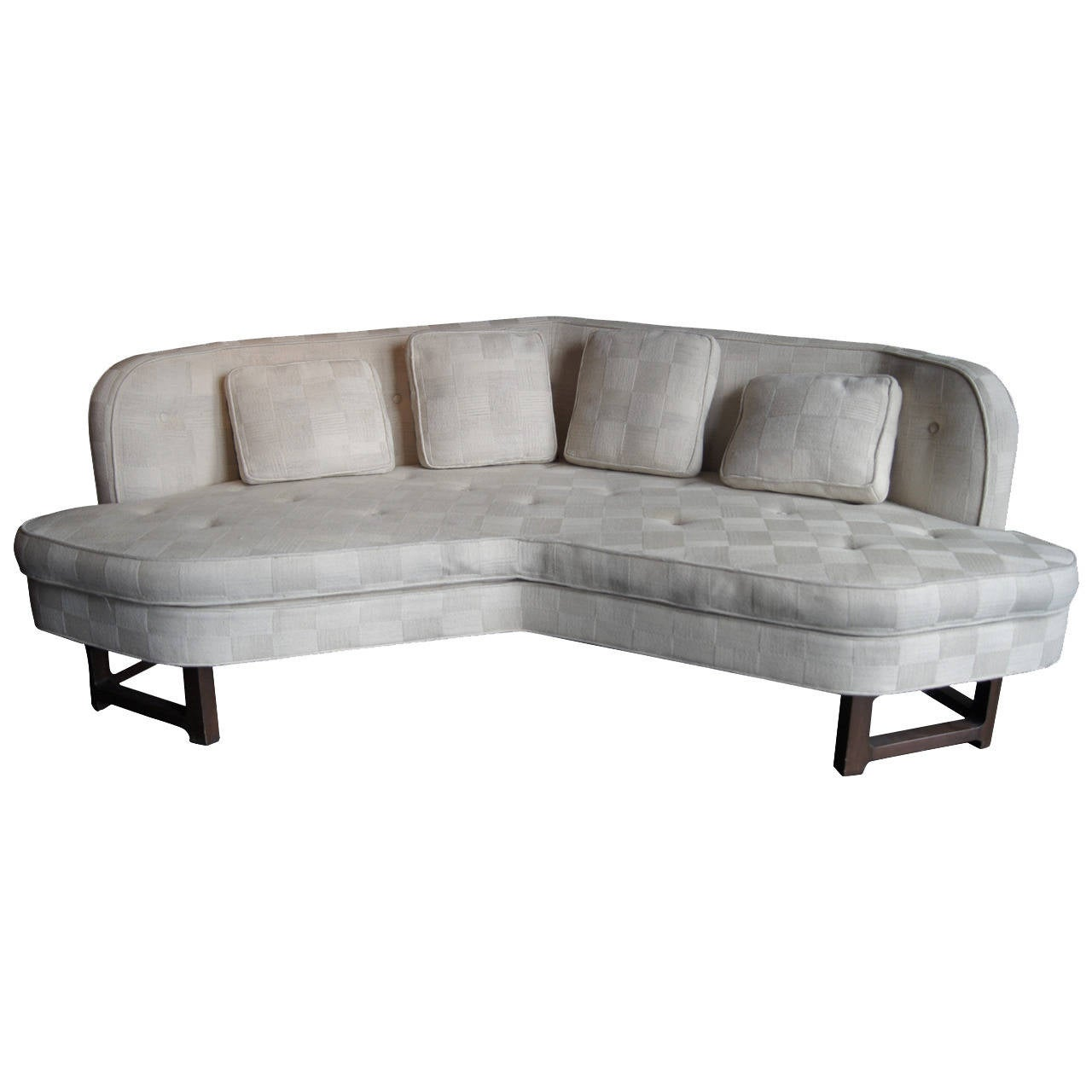 Angular Janus Collection Sofa, Model 6329, by Edward Wormley for Dunbar For Sale