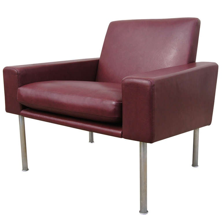 Early Airport Lounge Chair By Hans Wegner At 1stdibs