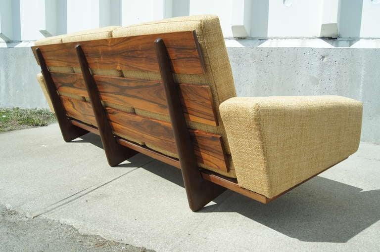 exquisite danish rosewood sofa by gustav thams for vejen. Black Bedroom Furniture Sets. Home Design Ideas